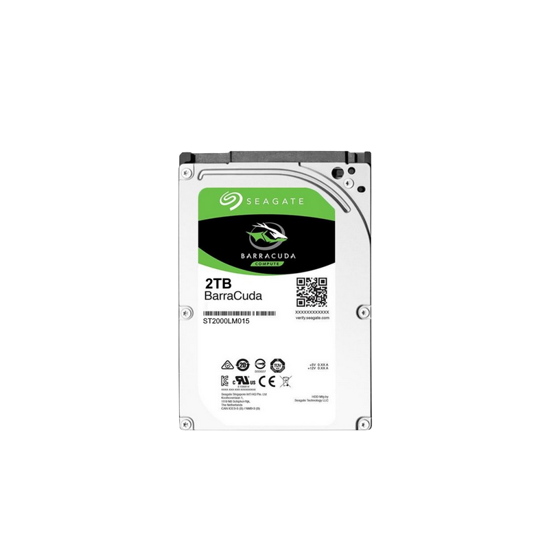 shoppi - Disque Dur Interne SEAGATE BarraCuda 2To 2.5