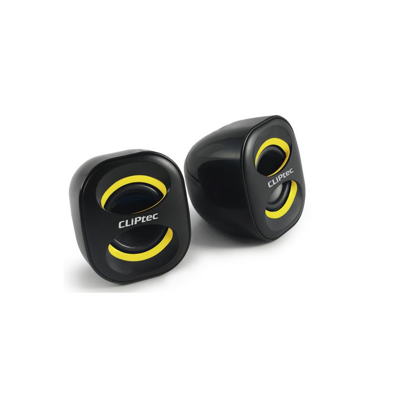 shoppi - Haut-parleur multimédia USB 2.0 CLIPtec COMPACT-WAVE BMS350