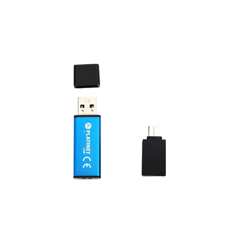 shoppi - Clé USB Platine X-Depo 16 Go USB 2.0 PMFEC16 Type C