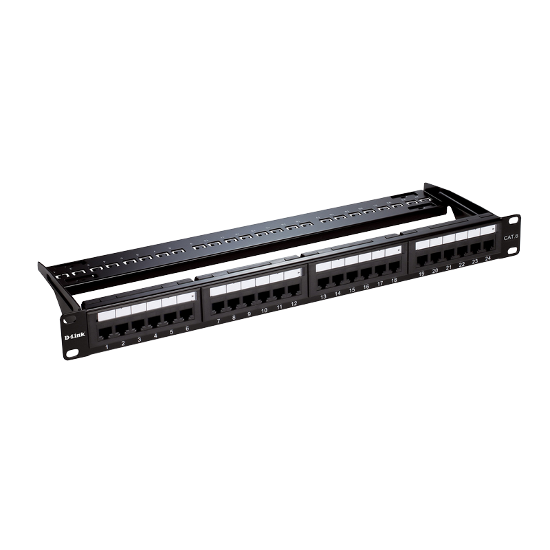 shoppi - Patch Panel Cat 6 UTP Keystone Type- 24 P EQUIPE