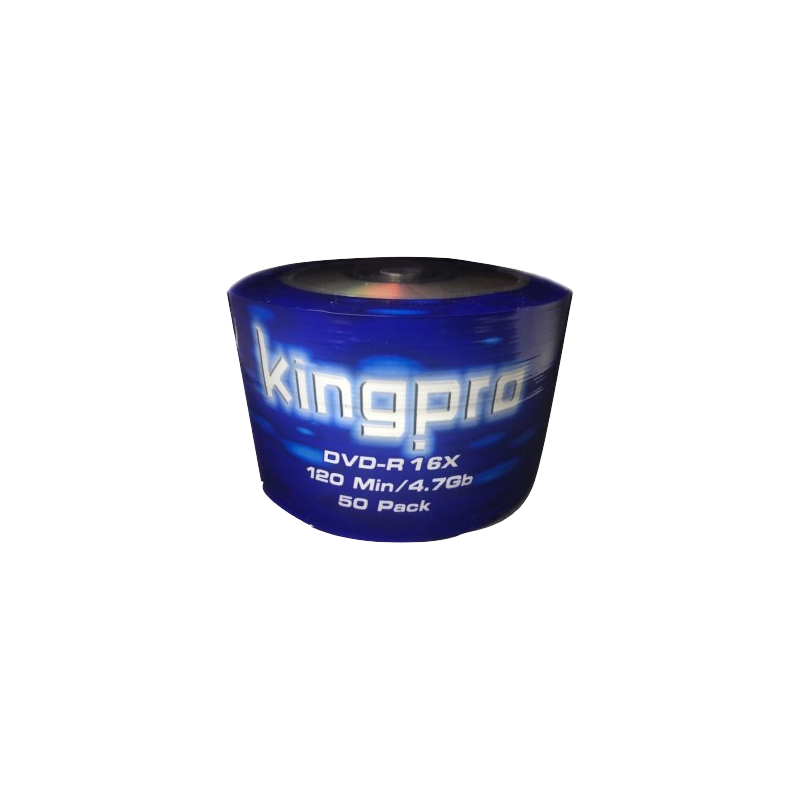shoppi - Bobine 50x DVD-R KINGPRO 16x 120Min / 4.7Go