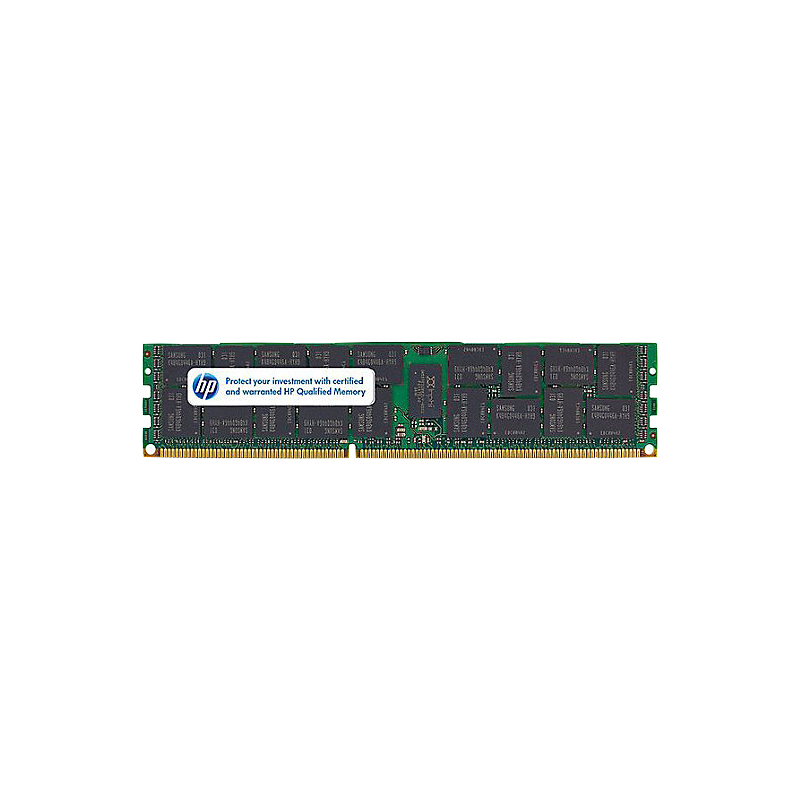 shoppi - Barrette mémoire pour Serveur HP 8GB (2x4GB) Dual Rank x4 PC3-12800R
