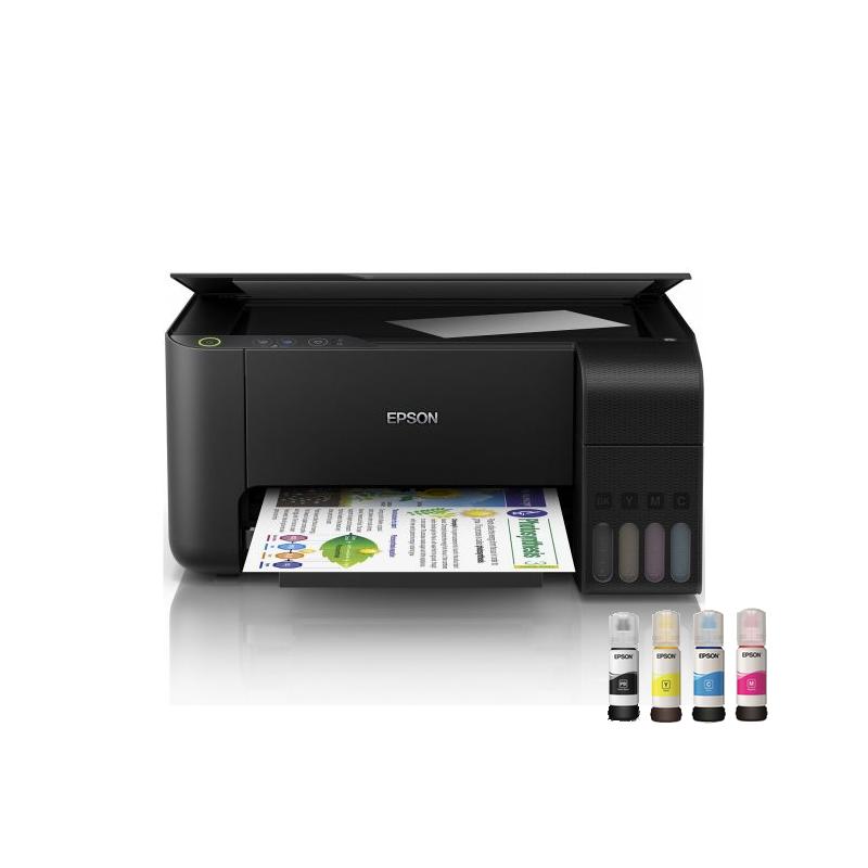 shoppi - Imprimante Jet d'Encre à Réservoir Intégré EPSON ECOTANK L3110 3En1 Couleur
