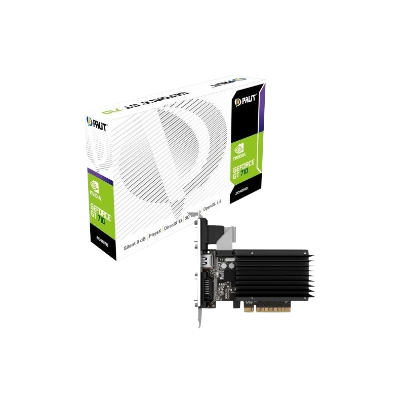 shoppi - Carte Graphique Palit GeForce GT 710 2GB