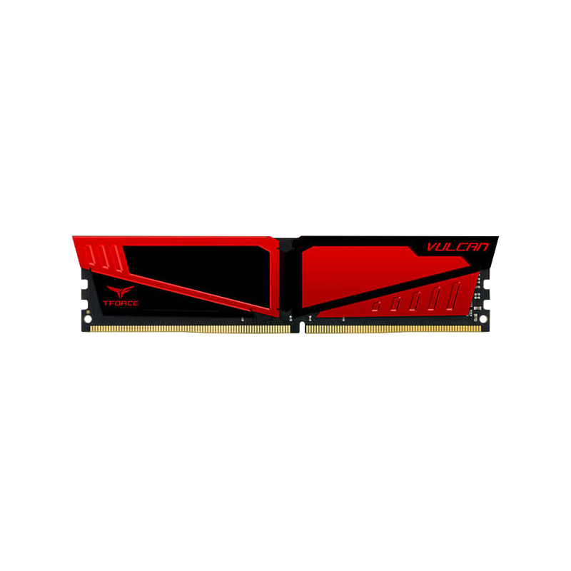 shoppi - Barrette mémoire Gamer TEAM GROUP VULCAN Z RED UD-DDR4 8G 2666 Mhz
