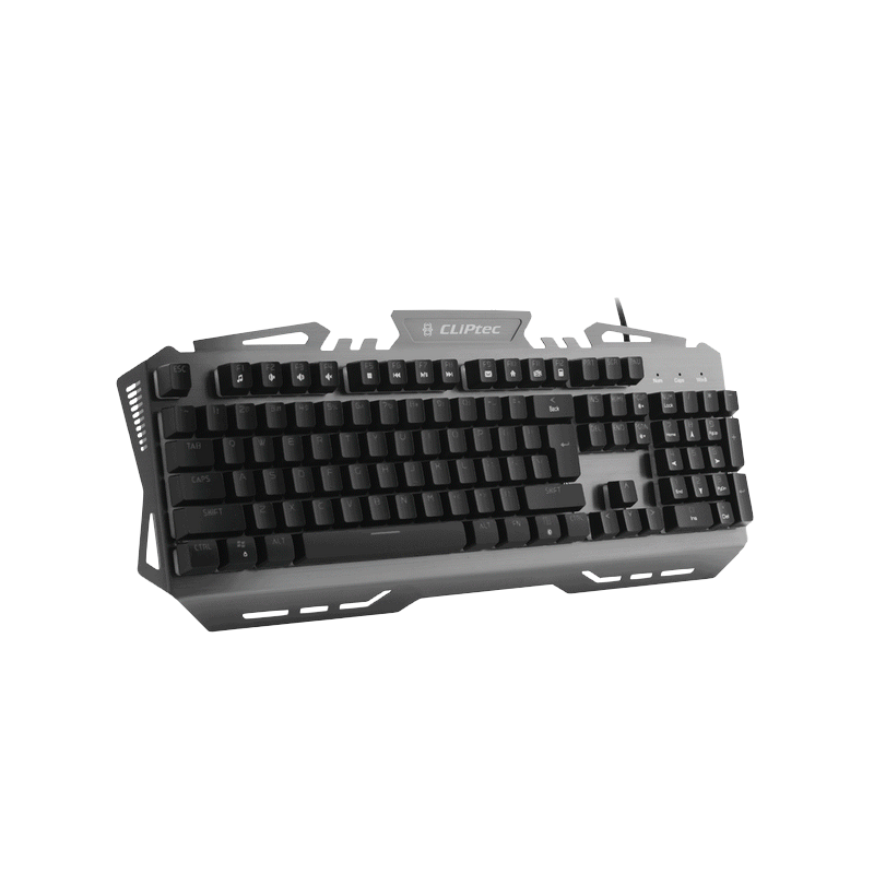shoppi - Clavier GAMER Cliptec TITAZAOS LED lumineux USB  RGK775