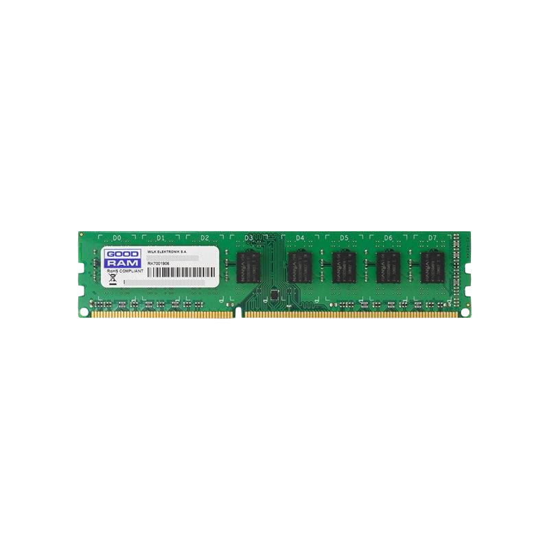 shoppi - Barrette Mémoire GOODRAM 4 GO DDR3-12800