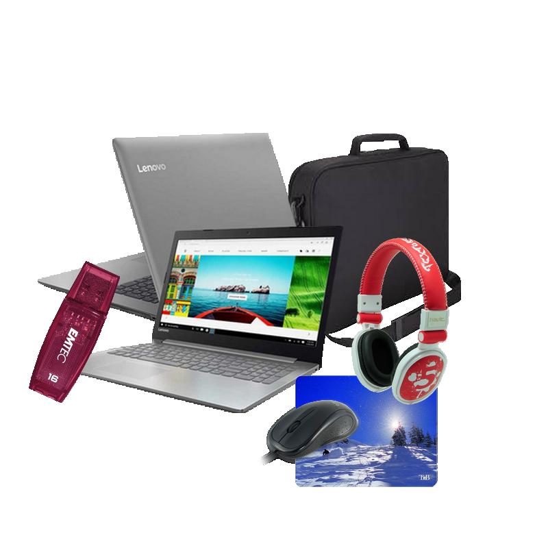 shoppi - PC Portable LENOVO IdeaPad 330 4Go 1To + Sacoche et 4 accessoires