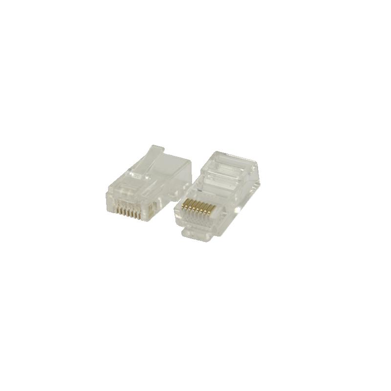 shoppi - Connecteur RJ45 pour câble monobrin UTP CAT6 10 pièces