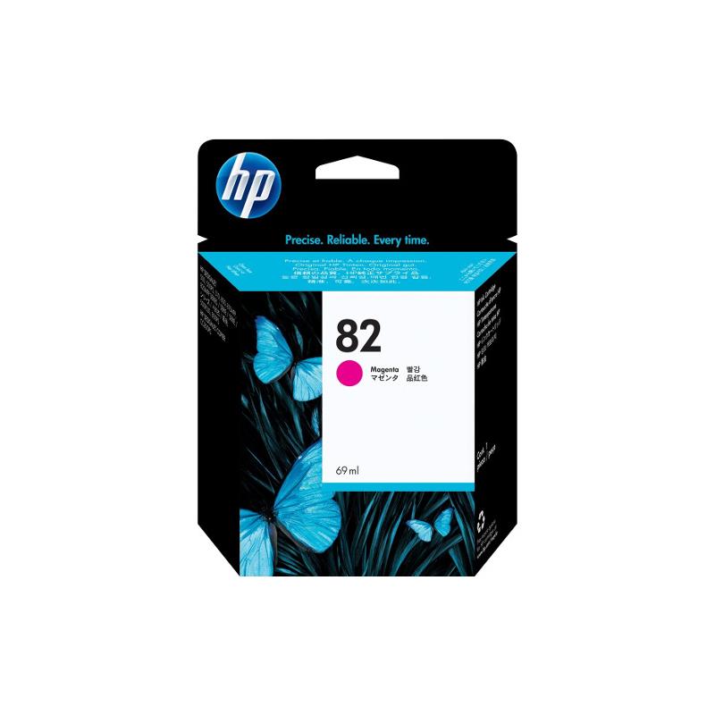 shoppi - HP DesignJet 82 cartouche d'encre Magenta, 69 ml