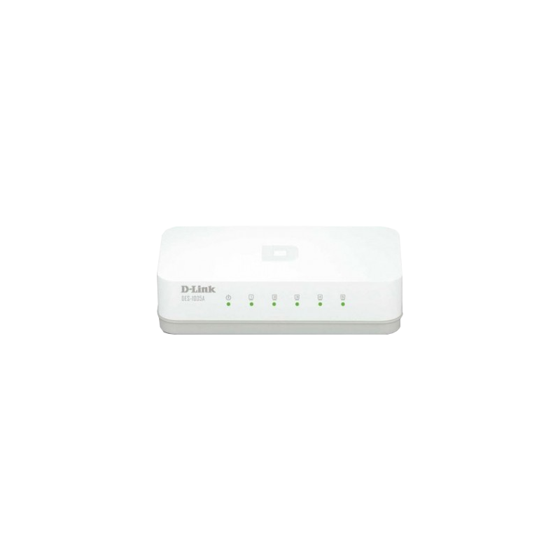 shoppi - Switch D-LINK DES-1005A/E 5 Ports