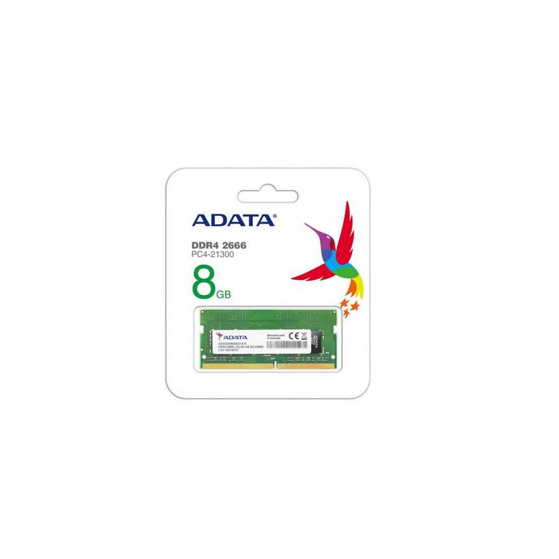 shoppi - Barrette Mémoire ADATA 8Go DDR4 2666 MHz Pour PC Portable
