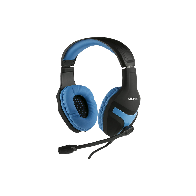 shoppi -  Casque Gaming Konix Mythics PS-400 pour PS4 Bleu