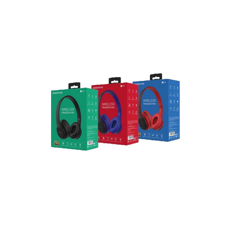 shoppi - Casque - Bluetooth - BO4 - Noir