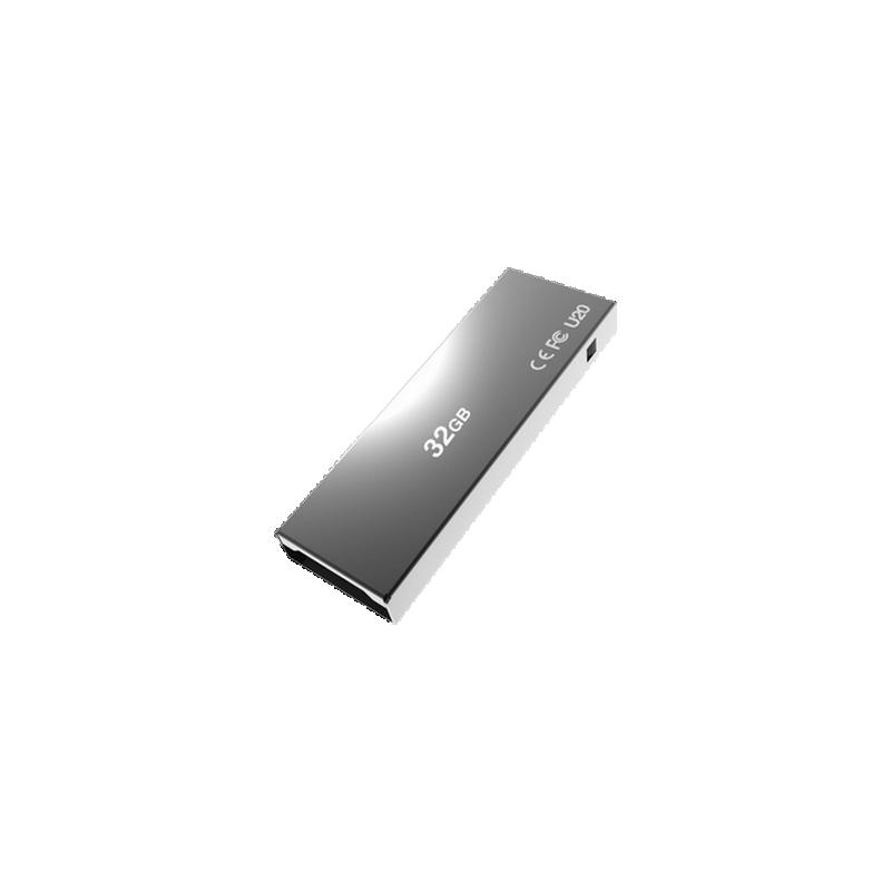 shoppi - CLÉ USB ADDLINK U20 / 32 GO / TITANIUM