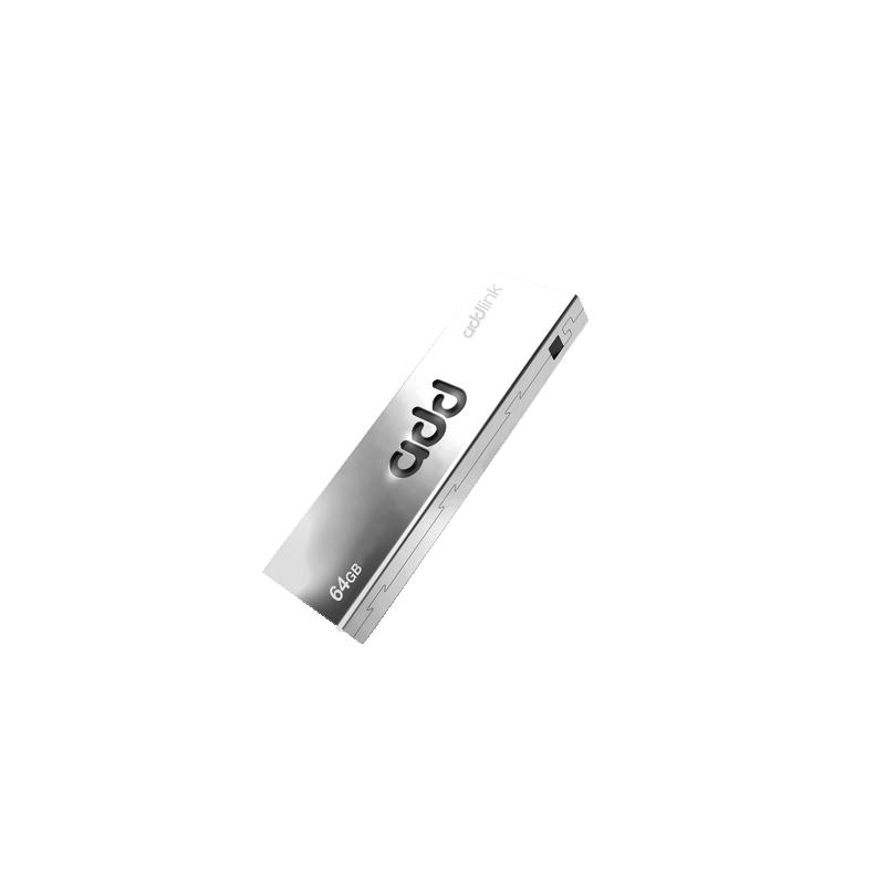 shoppi - CLÉ USB ADDLINK U20 / 64 GO / TITANIUM