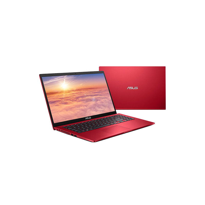 shoppi - PC Portable ASUS S509JA i3 10e Gén 4Go 1To - RED