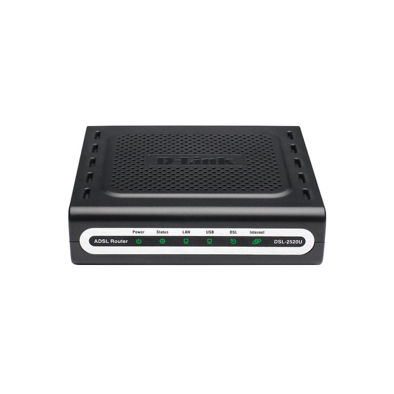 shoppi - D-Link DSL-2520U Routeur combiné Ethernet / USB 1 port ADSL2 +