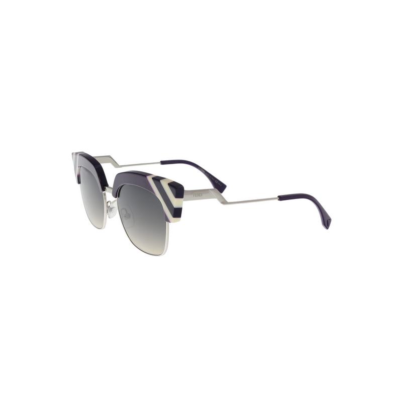 shoppi -  Lunettes De Soleil FENDI FF 0241 / S B3VGA Violet Blanc GRADIENT AUTHENTIQUE