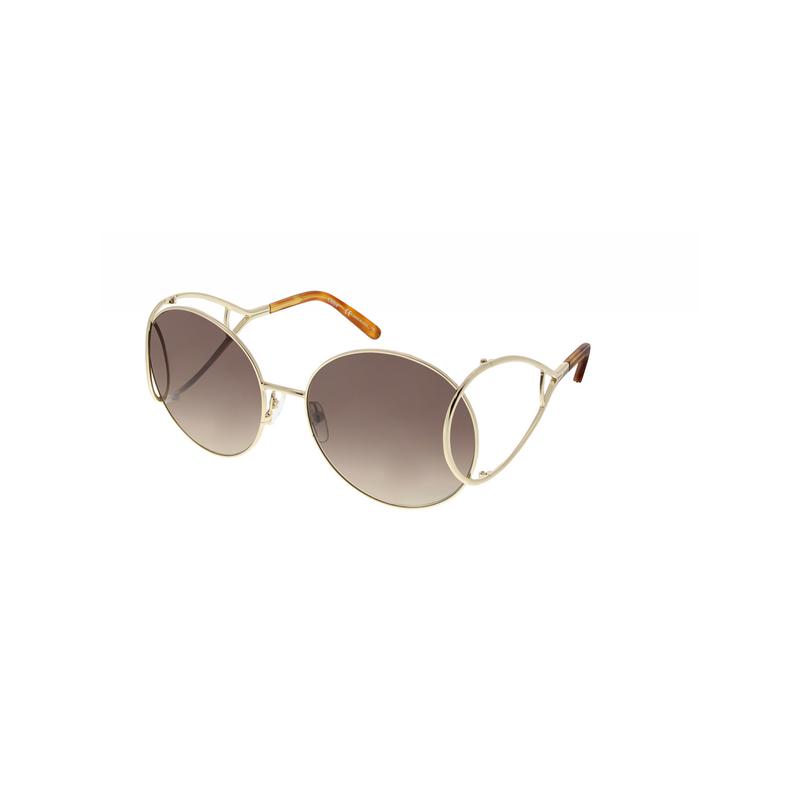 shoppi - Lunettes de soleil rondes Chloé Jackson en métal
