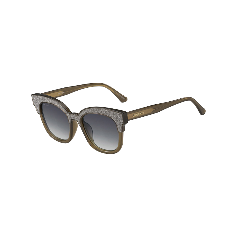 shoppi - Lunettes de soleil JIMMY CHOO MAYELA/S 19A VR  cristal Cadre