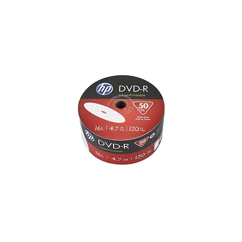 shoppi - BOBINE DE 50 DVD-R HP IMPRIMABLE