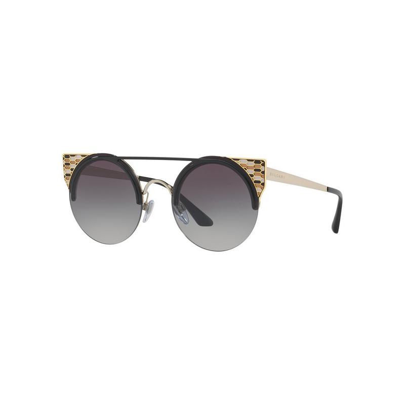 shoppi - Lunettes de soleil Bvlgari BV6088 2018 / 8G Noir Pale Or Gris Dégradé