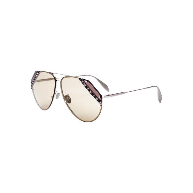 shoppi - Lunettes de soleil Alexander McQueen AM-0117-S - 004