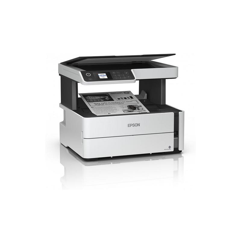 shoppi - Imprimante Jet d'encre EPSON ECOTANK - M2170 3en1 Monochrome WIFI et Réseaux